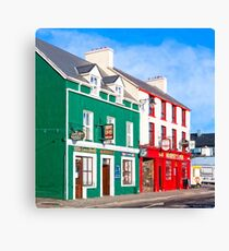 The Color Of Dingle Ireland Canvas Print