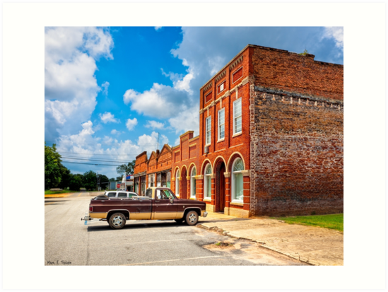 Gone To Town - Small Town Americana by Mark Tisdale