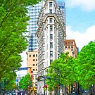 Dowtown Atlanta - The Historic English-American Building by Mark Tisdale