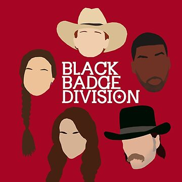 Wynonna Earp - Black Badge Division (Minimalistic poster) by dolphinvera