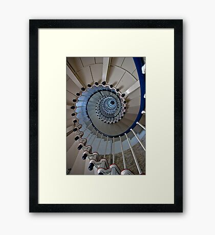 Just a different Spin on things. Framed Print