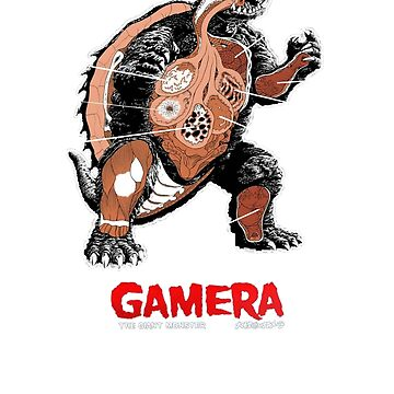 Gamera Anatomy by impossiblefunky