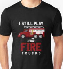 Fire Engine Unisex T-Shirt