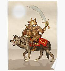 Goblin Wolf Cavalry Poster