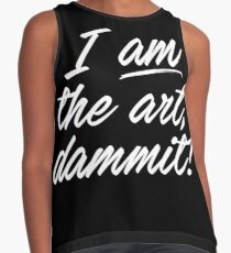 I AM THE ART Contrast Tank