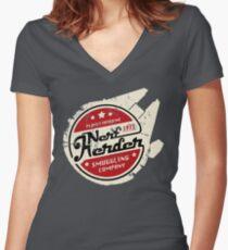 Nerf Herder Women's Fitted V-Neck T-Shirt