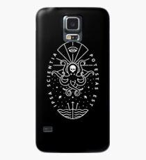 Knowledge - White/Skull Case/Skin for Samsung Galaxy