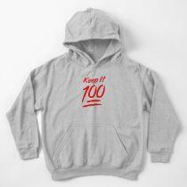 Keep It 100 Kids Pullover Hoodie