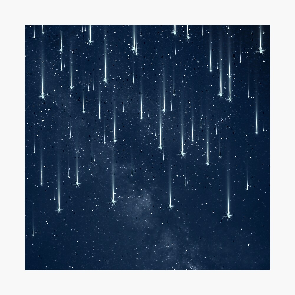 Wishing Stars Photographic Print