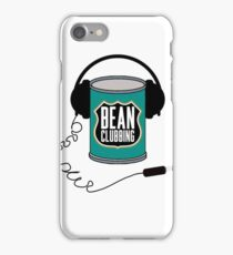 Bean Clubbing iPhone Case/Skin