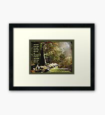 Just Because Framed Print