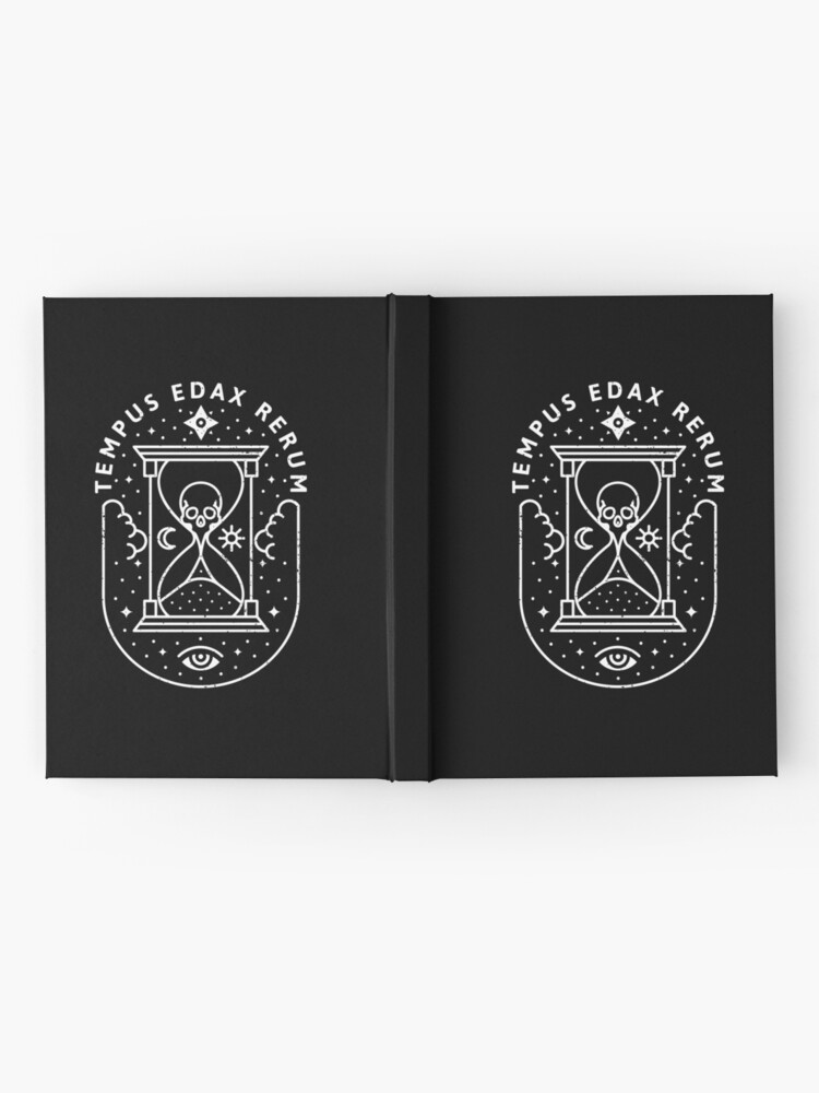 Alternate view of Time / White Hardcover Journal