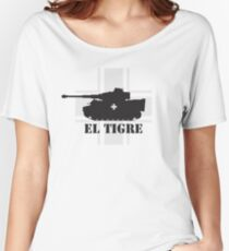 El Tigre WW2 Women's Relaxed Fit T-Shirt