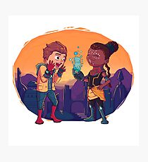 Shuri and Peter Photographic Print