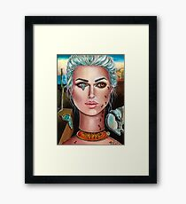 Memories of Dali by Laurie Leigh Surrealism Framed Print