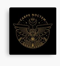 Carpe Noctem Canvas Print