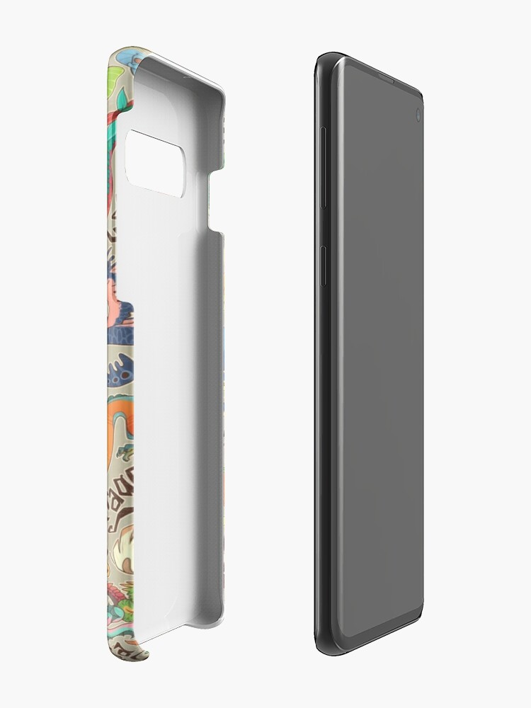 Alternate view of Mini dragon compendium  Case & Skin for Samsung Galaxy
