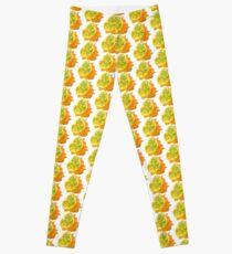 Polygonale Kiwano-Illustration Leggings