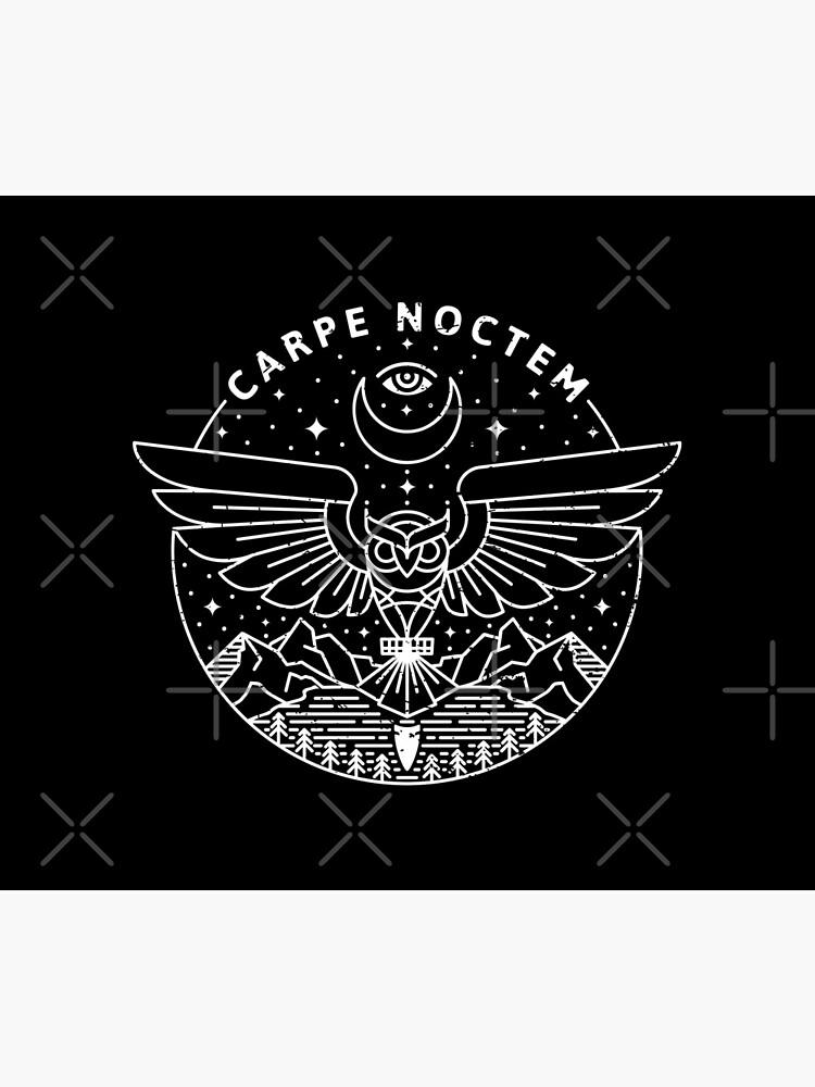 Carpe Noctem / White by rfad