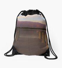 Inviting Lake Drawstring Bag