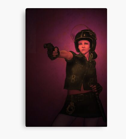 Renegade Ruby Canvas Print