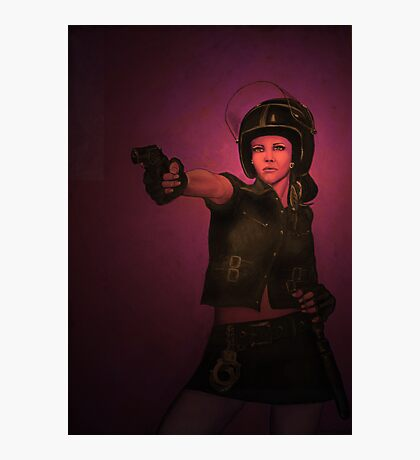 Renegade Ruby Photographic Print