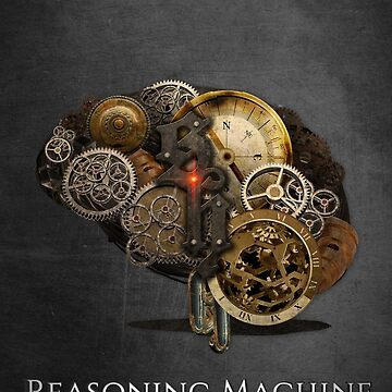 Reasoning Machine - poster by consultingcat