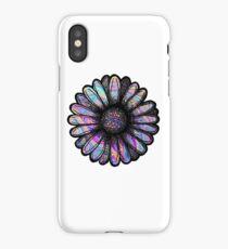Rainbow Swirl Flower iPhone Case/Skin