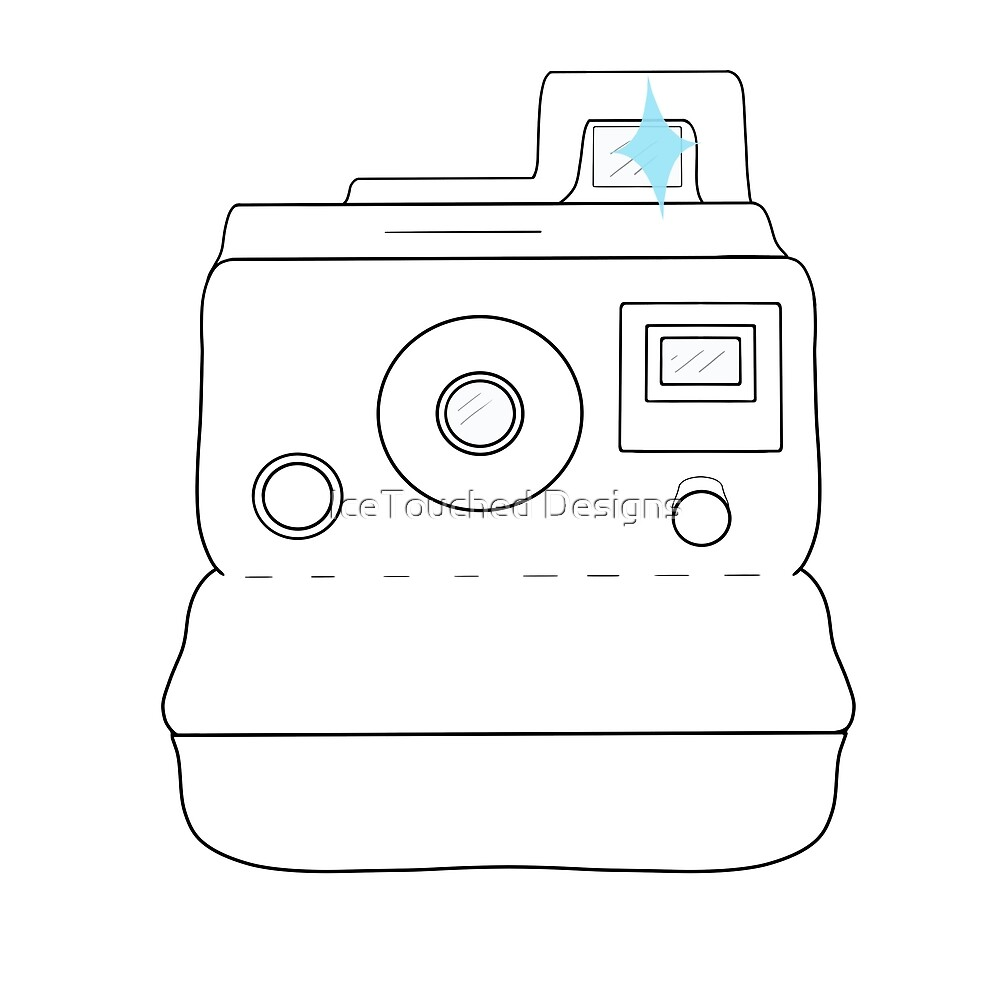 Polaroid Camera by IceTouched
