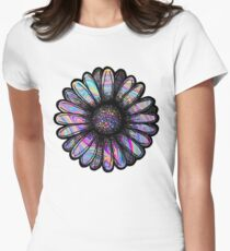 Rainbow Swirl Flower T-Shirt