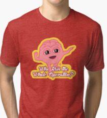 Lil Dicky's Brain Fanart Tri-blend T-Shirt