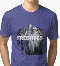 Free Hugs by an Angel Tri-blend T-Shirt