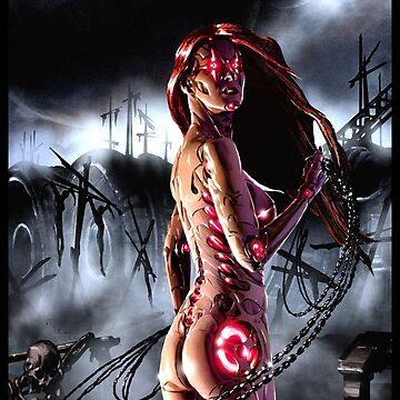 Cyberpunk Painting 090  by Sokoliwski