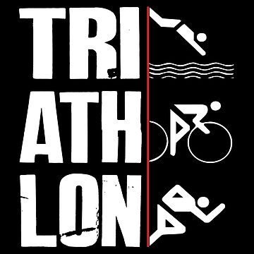 Swim,Bike,Run-Triathlon by SmartStyle