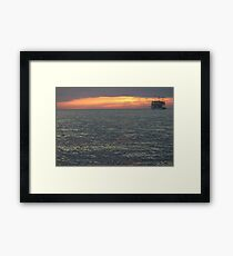 The Green Flash Framed Print