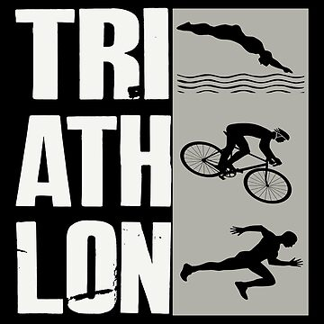 Triathlon- Swim,Bike,Run Triathlete by SmartStyle