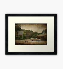 Bates Motel Framed Print