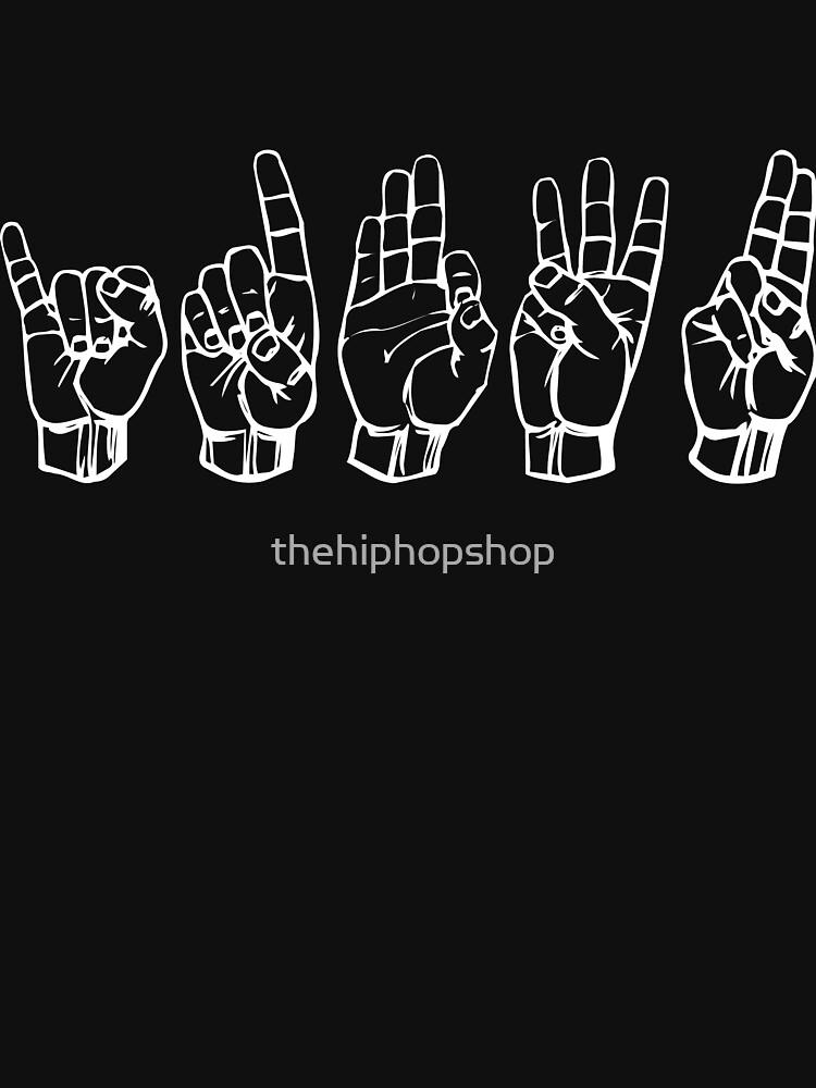 IDFWU Sign Language by thehiphopshop