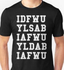 IDFWU Hook White Unisex T-Shirt