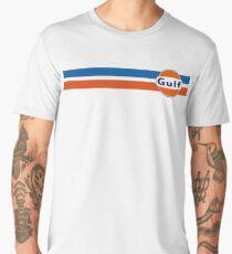 Gulf horizontal stripes Men's Premium T-Shirt