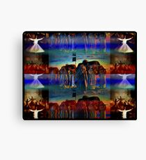 the return of the she king Canvas Print
