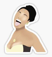 Nicki  Sticker