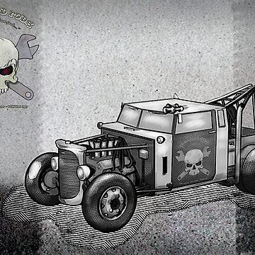 Junkyard Rods Tow Truck by kenmo