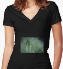 Just 4 You Magic Green. Doctor Faustus. Always a pleasure ! Women's Fitted V-Neck T-Shirt