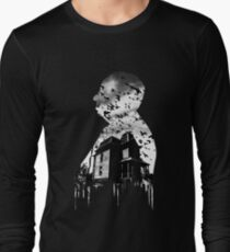 Alfred Hitchcock Collage Long Sleeve T-Shirt
