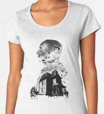 Alfred Hitchcock Collage Women's Premium T-Shirt