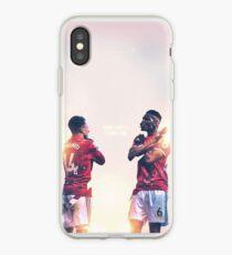 Jesse Lingard And Paul Pogba of Manchester United wakanda forever celebration iPhone Case