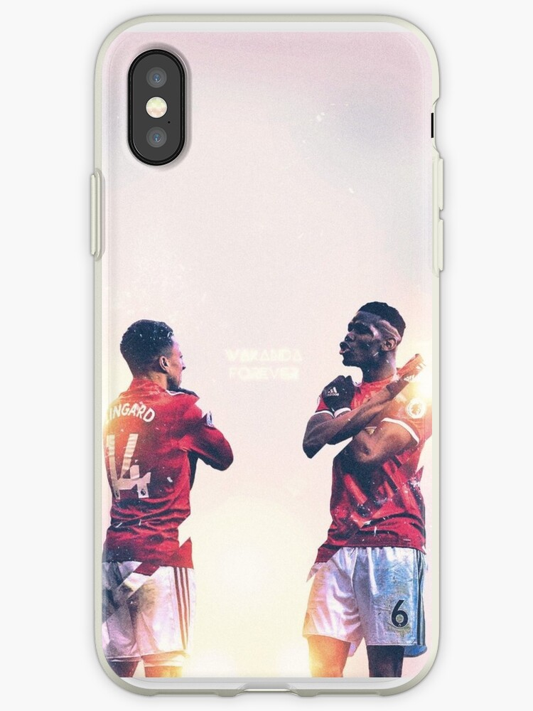 Jesse Lingard And Paul Pogba of Manchester United wakanda forever celebration by Jacob Crotty