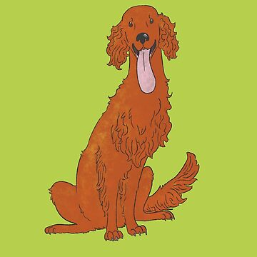 Irish Setter by leslieawicke