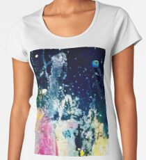 SPACE CRYSTAL CASTLES  Women's Premium T-Shirt